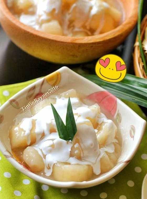 Resep Singkong Manis Ala Thailand Aka Sweet Casava. Enak, Gurih, dan Singkongnya Pulen Banget Bikin Ketagihan!