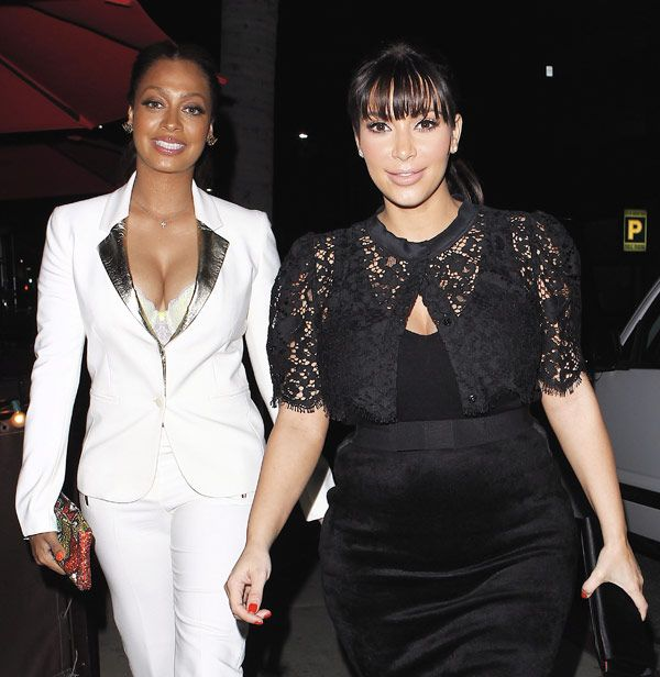 LaLa Anthony Meets Baby North West: 'She's JustBeautiful'