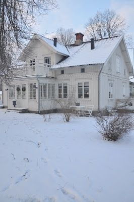 •(❤)• Old Farm House In Winter •(❤)•