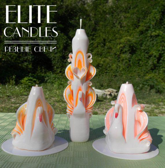 Mooie kaarsen kaarsen gesneden unieke kaarsen van NeedHave op Etsy