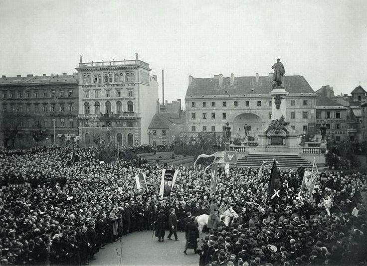 Pomnik Adama Mickiewicza, Warszawa - 1905 rok, stare zdjęcia