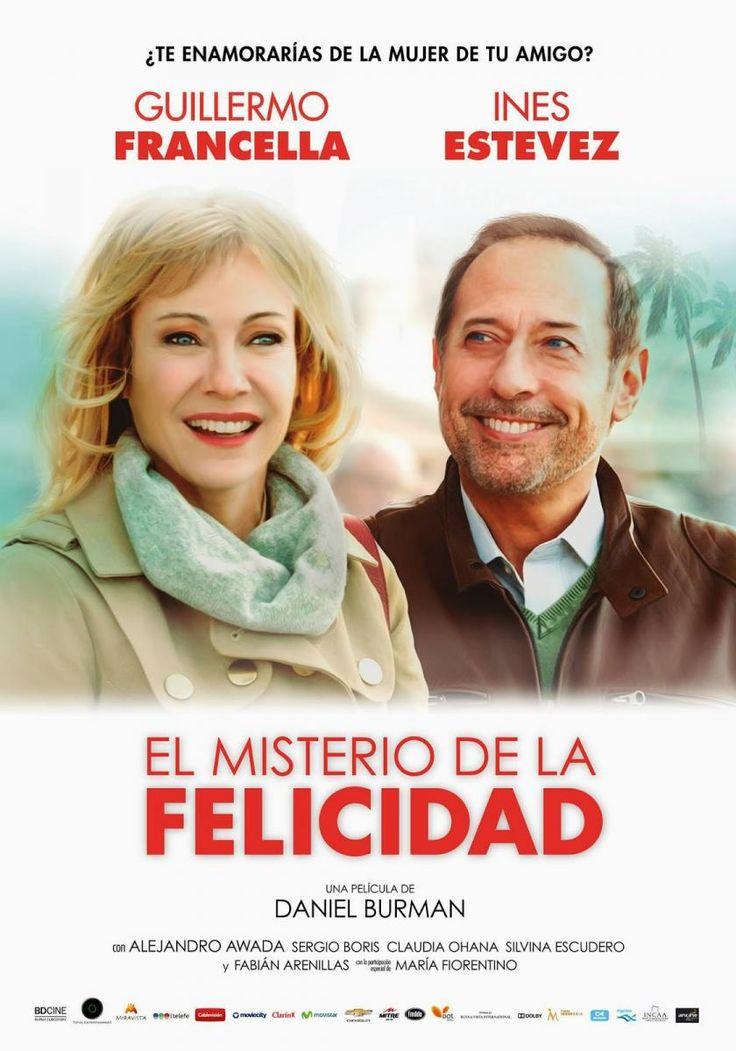 El misterio de la Felicidad (2014) Guillermo Francella..El misterio de la felicidad es una linda película. Una de esas en las cuales ni de casualidad el espectador se puede arrepentir . http://www.todaslascriticas.com.ar/critico/matias-lertora