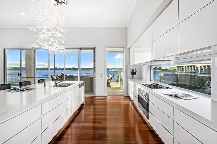 Waterfront excellence in prized due north setting