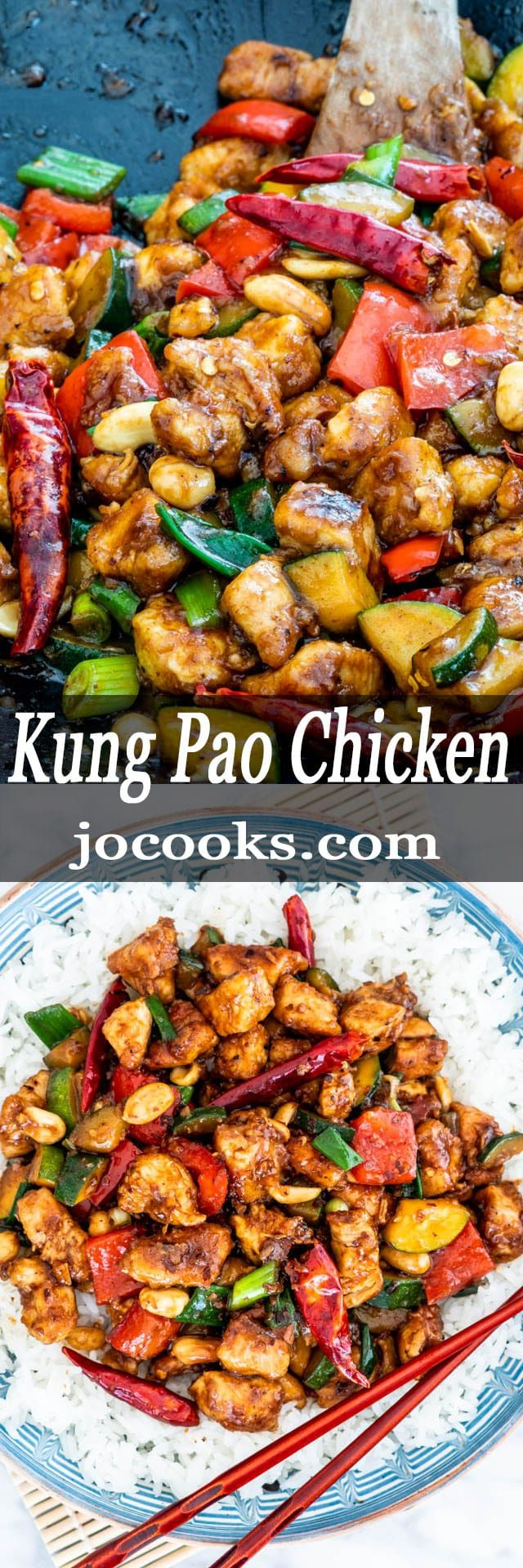 This Kung Pao Chicken is a delicious stir-fry load…