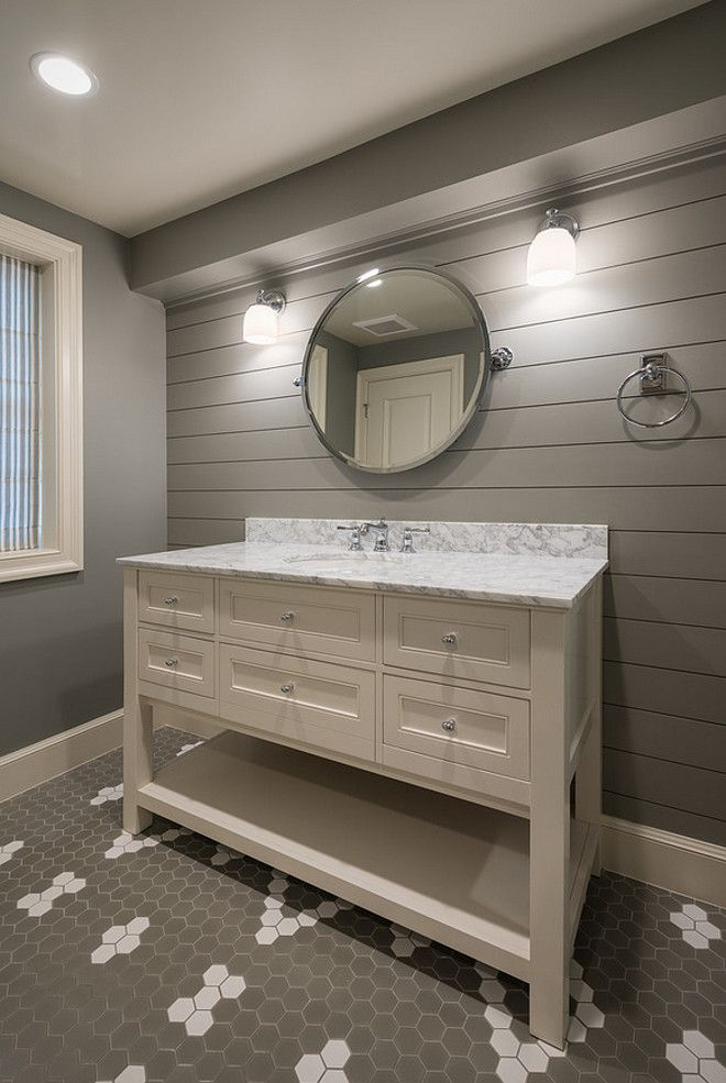 Best 25 gray accent walls ideas on pinterest grey - Accent color for gray and white bathroom ...