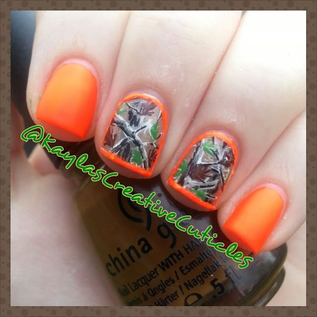 Camo/Hunting Nails: ABSOLUTELY LOVE!!!!! -- @Alli Rense Rense Rense Rense Rense Rense Heyde