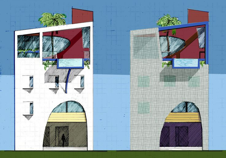 Legian Loft alternative facade