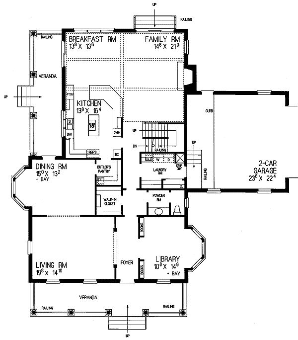 23 best House images on Pinterest House floor plans Colonial