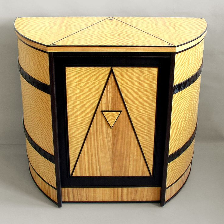 art moderne furniture. curved art deco cabinet custom made by joel liebman furniture moderne