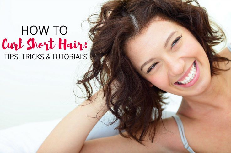 Hair Ideas For Short Hair Pinterest: Best 25+ Curl Short Hair Ideas On Pinterest