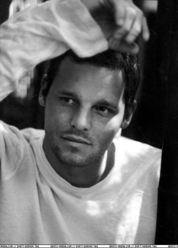 Justin Chambers. Loved him since he played Mossimo in The Wedding Planner. (mossimo missmo, any other kinda mo mo)