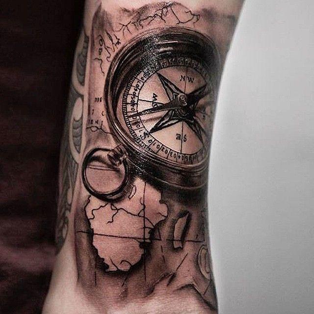 Tattoo Ideas Medium: 58 Besten Tattoo Watch Uhr Bilder Auf Pinterest