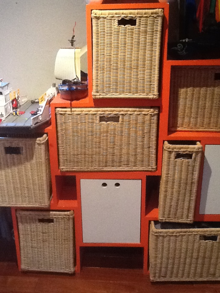 Genial para organizar juguetes  Muebles para niños  Pinterest