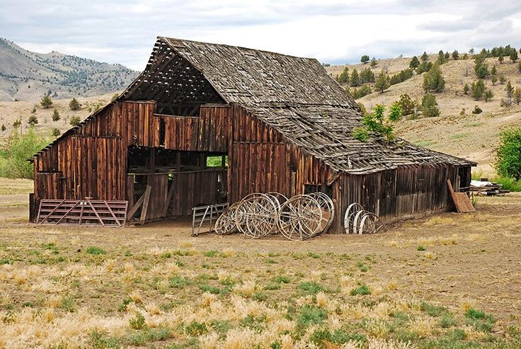 Harney County Oregon Old Barns                                                                                                                                                                                 More