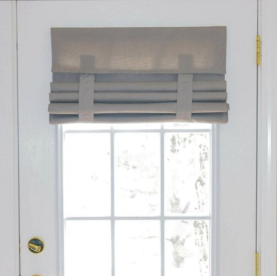 Light Gray French Door Curtain