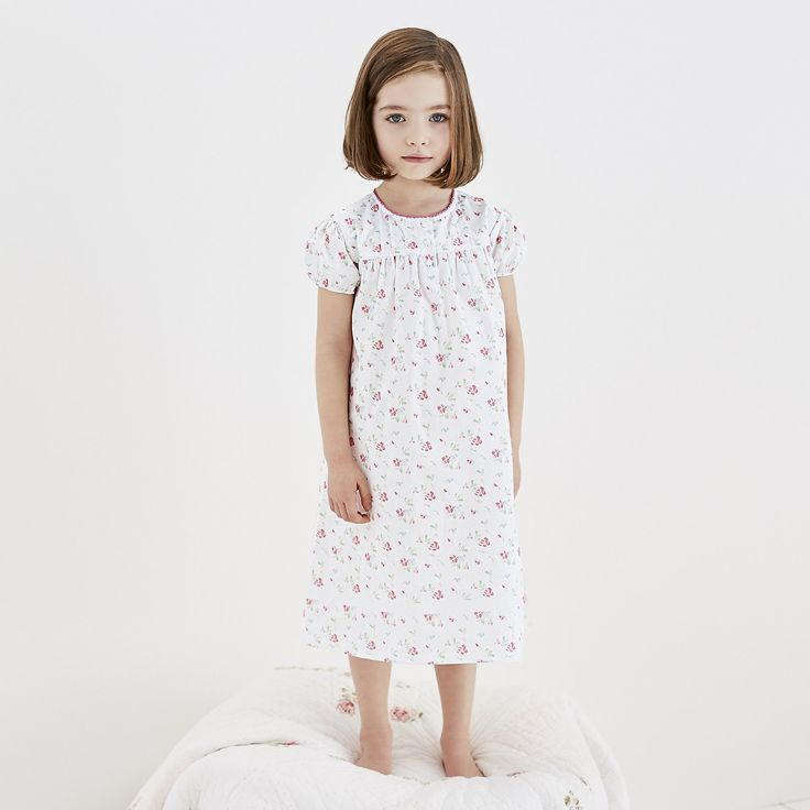 Summer Sweetpea Nightdress