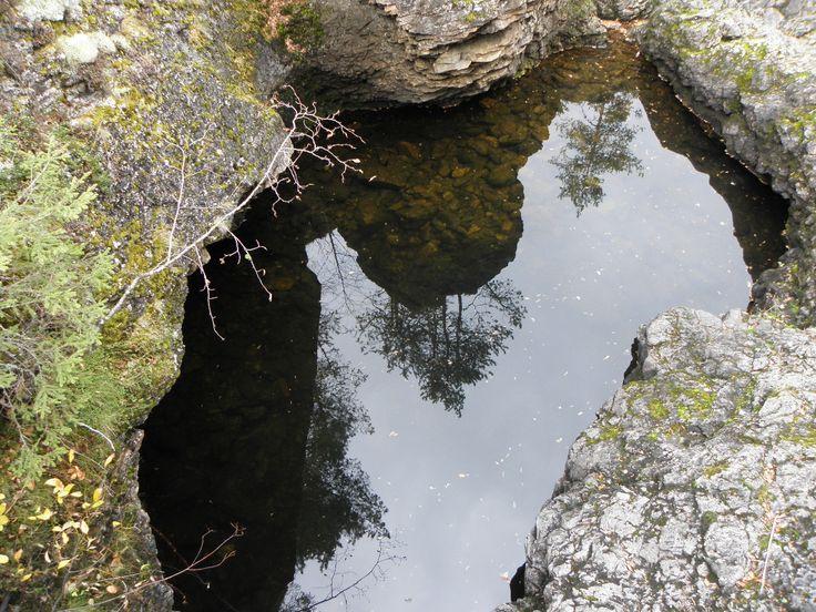 Pond from river Kiutaköngäs.