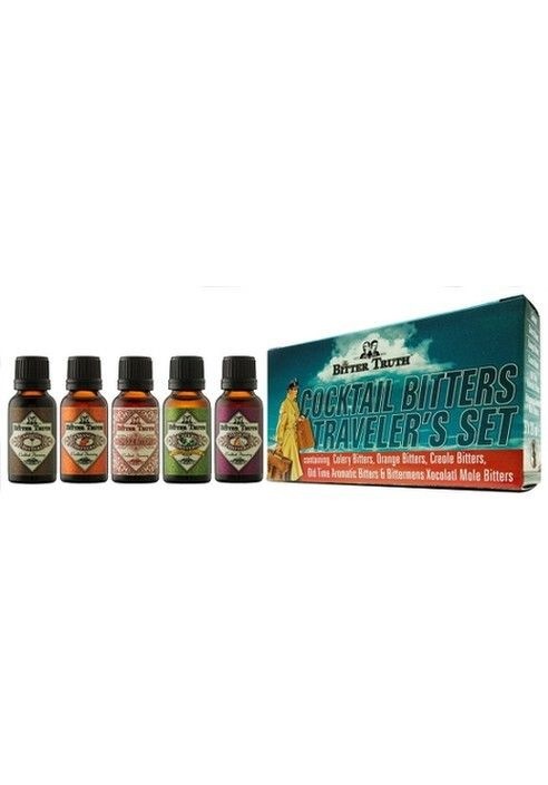 The Bitter Truth  bitters travel pack
