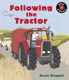 Follows the story of a tractor as it plows, sows, and harvests the fields throughout the course of a year, with a little help from some other farm machinery.