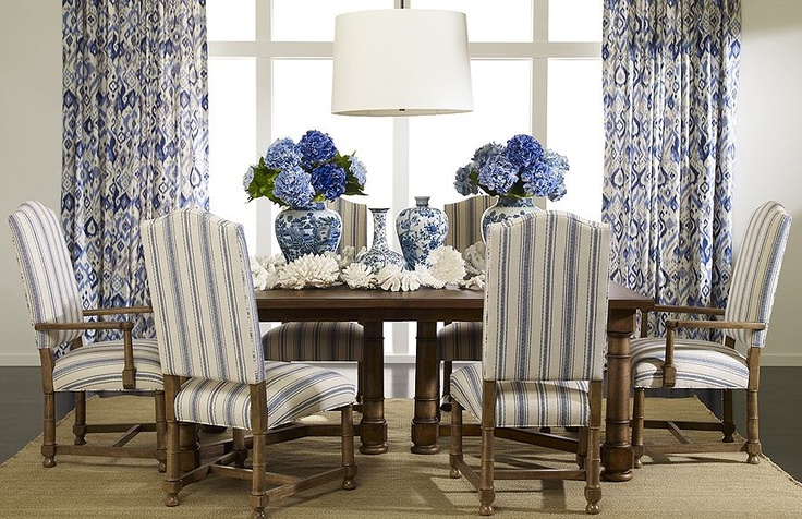Pictures Of Blue Dining Rooms