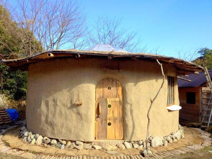 百姓 Hyakusho: ストローベイル建築事例 Straw Bale Building in Japan