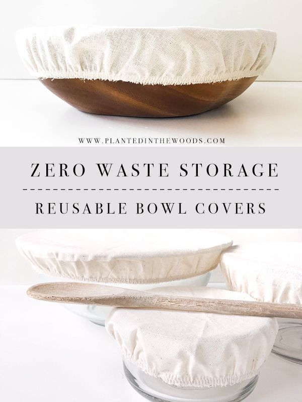 Low Waste Storage Options – Reusable Bowl Covers…