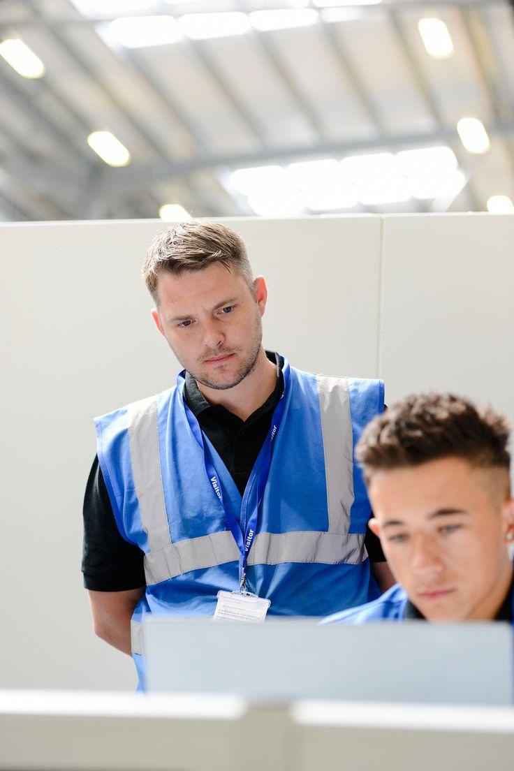 CNC Turning - Cody O'Pray (apprentice) & Chris Cooper (Training Manager)