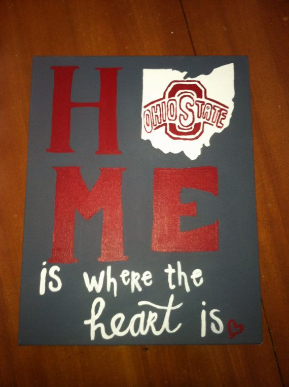 Made this for my momma, She loved it. . Now doing my own Etsy. Home Is where the Heart is Canvas - Any State - by Canvasmeanings, $25.00