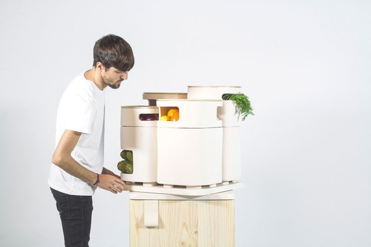 Industrial designer Fabio Molinas has dreamt up a new concept in refrigerators that aims to keep your fruits and veggies fresh for longer periods of time. Storing them in the fridge isn't always the best place to extend their life so Molinas designed OLTU.