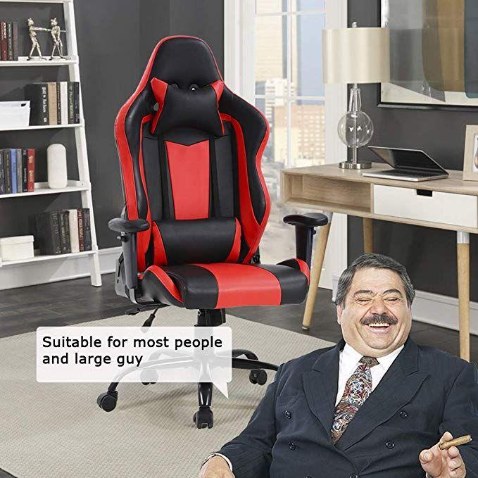 Big And Tall Office Chair 500lbs Cheap Desk Chair Ergonomic Computer Chair High Back Pu Executive Chair With Lumbar Bureau De Jeu Bureau Travail Montage Photo