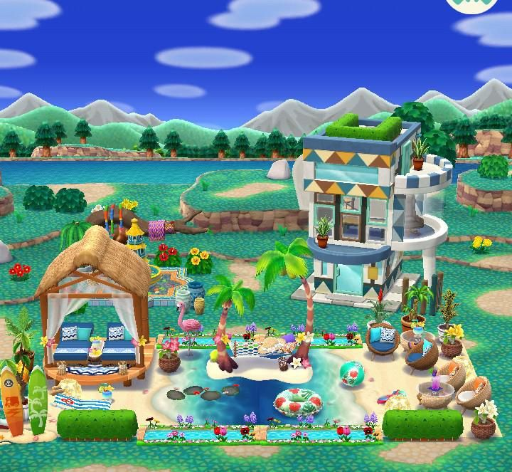 Sharing My Beach Themed Camp Before Moving On To The Next Project