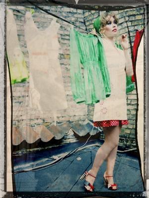 Cinderella 2011.   Our version of Cinderella in the city ... staged on the set of a fine old puppet theatre.    Model: Birgitte Hjort Sørensen  Photographer: Jeanette Philipsen  Makeup: Tina Kristoffersen  Stylist: Johanne Helger Lund