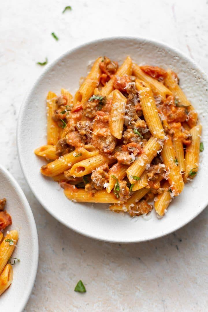 Spicy Italian Sausage Pasta Recipe Pasta Easy Pasta Recipes