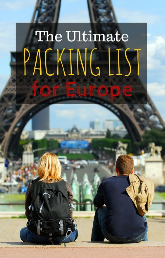 Complete packing list for Europe for summer especially for people looking for a carry on only packing list  http://www.wheressharon.com/planning-family-travel/packing-for-europe-in-summer-carry-on-only-packing-list/