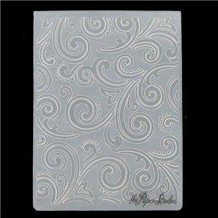 the Paper Studio A2 Intricate Swirl Embossing Folder | Shop Hobby Lobby