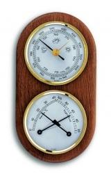 Statie meteo ROUND MINI    ROUND MINI va ofera informatii referitoare la temperatura curenta, umiditatea relativa a aerului si presiunea atmosferica.  http://www.malvi.ro/statie-meteo-round-mini-p72