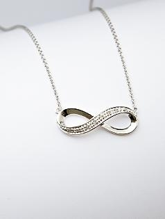 infinity diamond-accented necklace: $60Infinity Necklace