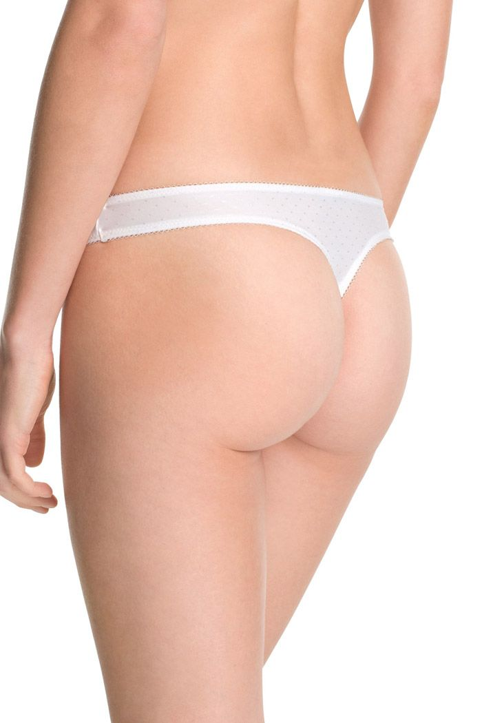 Esprit - silky jacquard thong at our Online Shop