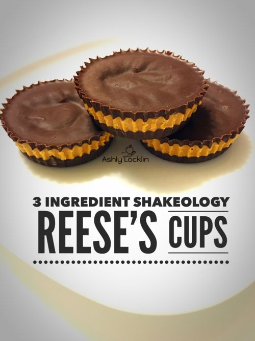 3 Ingredient Shakeology Reese's Cups