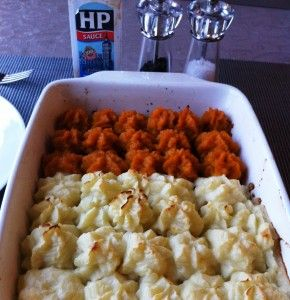 Shepherd's pie and cottage pie, a comforting for the long days of winter and recovering from sad Downton plot lines.