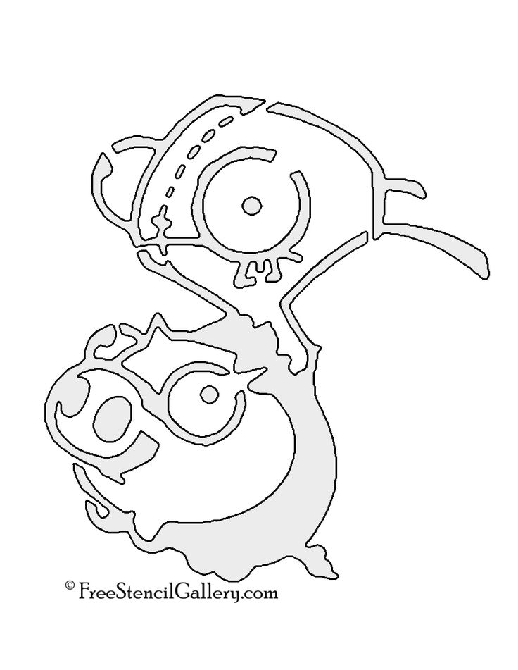 gir and piggy coloring pages - photo#31