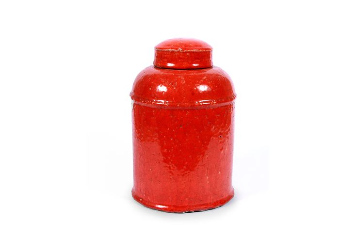 Colorful and dramatic jars and home accessories from Becara