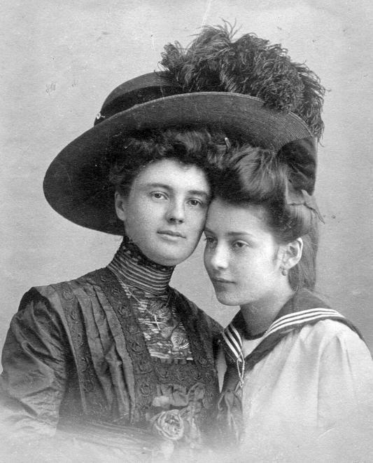 Asszony és lánya (1900) - Forrás: fortepan.hu