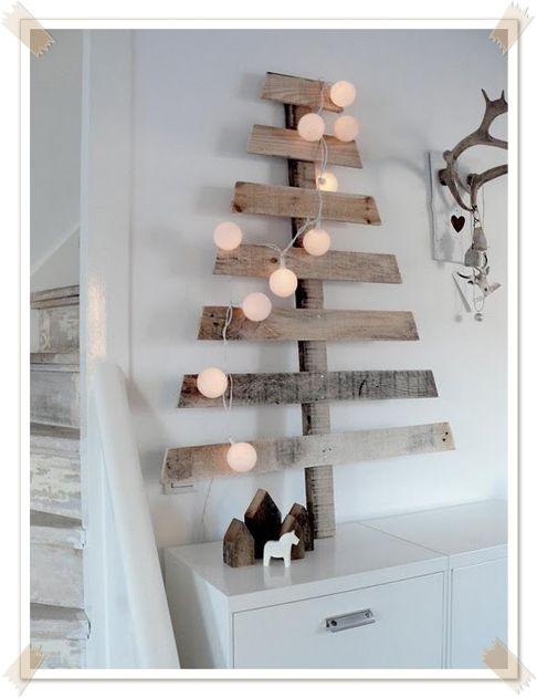 DIY-julgranar i trä