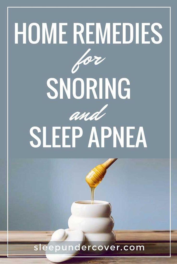 - HOME REMEDIES FOR SNORING AND SLEEP APNEA - If you are snoring due to mild sleep apnea, there are various natural remedies you can apply. #Sleepapnearemedies