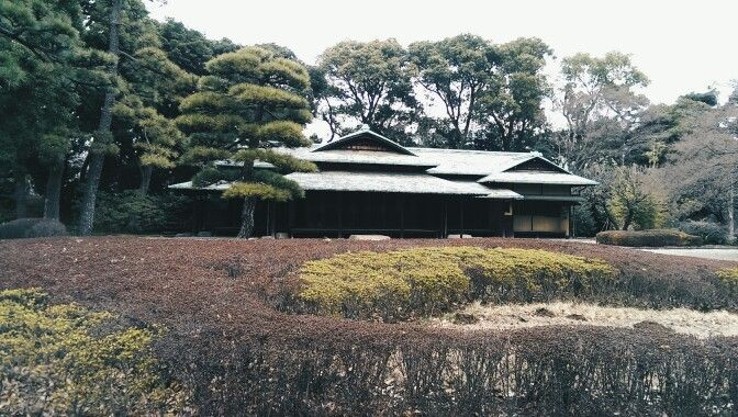 The Imperial palace wasn't so imperial after all
