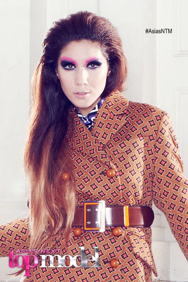 Monica Banjaratjuarunun at Harper's Bazaar Photoshoot