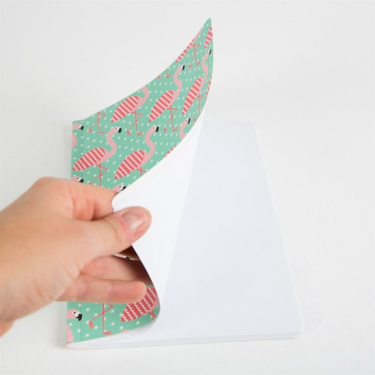 This modern, quirky notepad makes a lovely gift for a teacher or perhaps teenager.