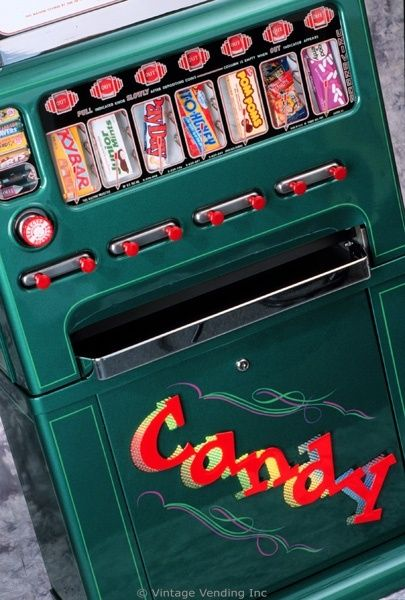 Pinterest Candy Machines From 60s Candy Vending Machines