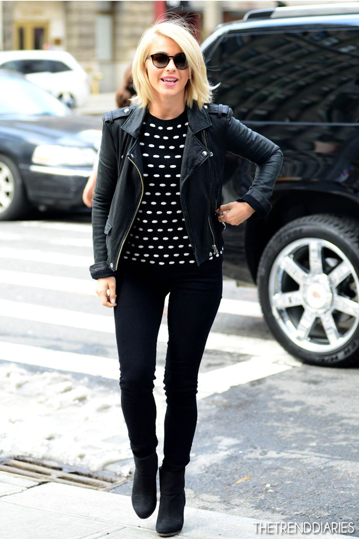 Julianne Hough out in New York City, New York - February 12, 2013